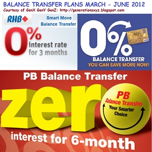 For cards life balance credit transfer 0% of